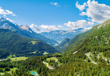 Val Poschiavo in Svizzera