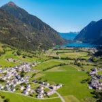 Valle del Poschiavo in Svizzera