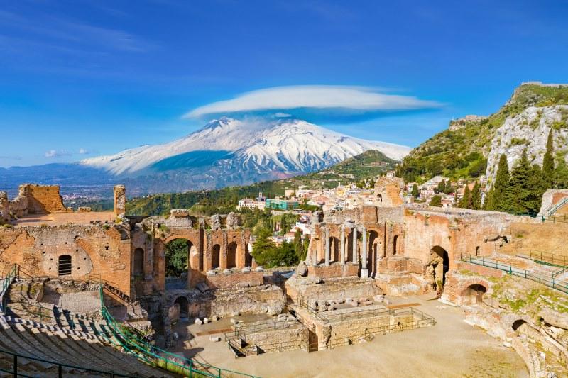 Etna e Taormina