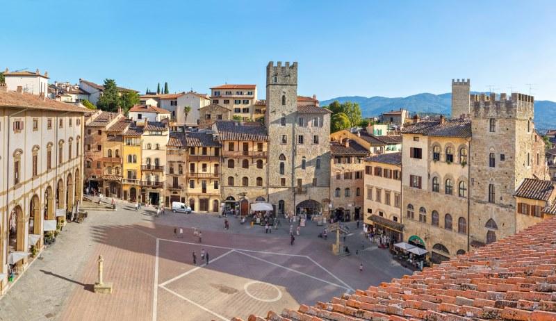 Piazza Grande o Piazza Vasari ad Arezzo